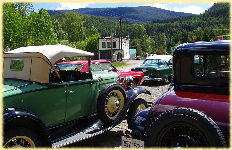 Vintage Cars in Coalmont