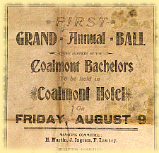 Annual Ball Poster 1912